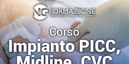 Impianto Picc e Midline Bologna 21 Settembre