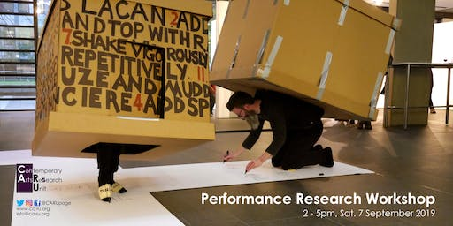 Performance Research Workshop