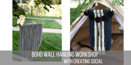 Boho Wall Hanging Workshop - Fall Edition  tickets