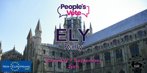 Ely People's Vote Rally