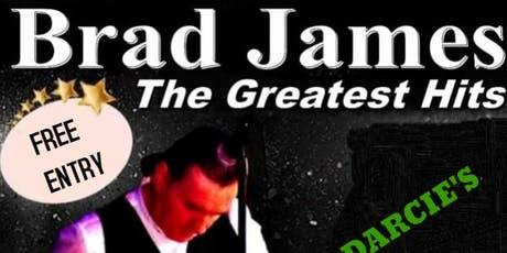 """A night of entertainment with the Fabulous """"BRAD JAMES"""" tickets"""