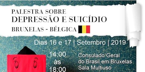 Palestra sobre depressão e suicídio