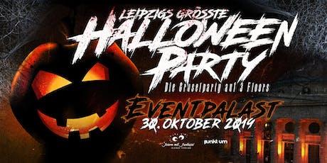 Leipzigs größte Halloweenparty 2019 Tickets