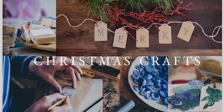 DIY Christmas Artisan Crafts - Adult Art Workshop tickets