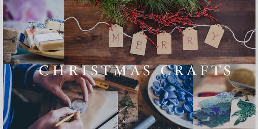 DIY Christmas Artisan Crafts - Adult Art Workshop