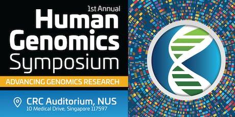 1st Annual Human Genomics Symposium tickets