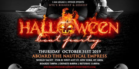 NEW YORK CITY HALLOWEEN BOAT PARTY 2019 tickets