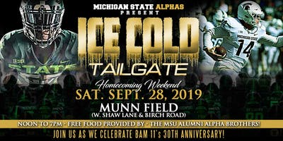 MSU Alphas Tailgate Homecoming Weekend