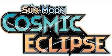 Cosmic Eclipse Pokemon TCG Pre-Release tickets