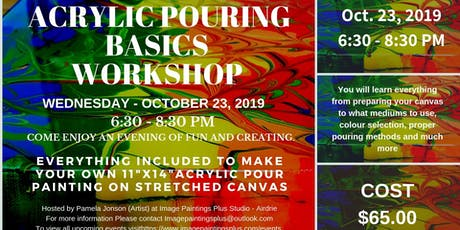 Acrylic Pouring Basic Workshop tickets