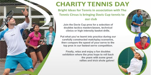 Davis Cup tennis at Whiteford Road Tennis Club - Mini kids 6-10yrs