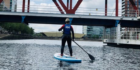 Learn To Stand UP Paddleboard at Salford Quays tickets