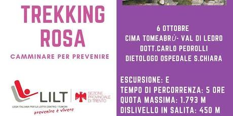 Quarto Trekking Rosa d'autunno biglietti