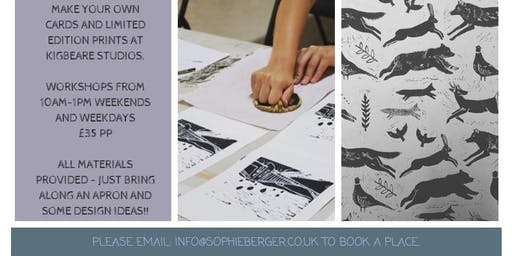 WoodBlock Printing Workshop