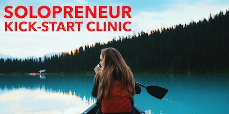 Online: Solopreneur Kick-Start Clinic tickets