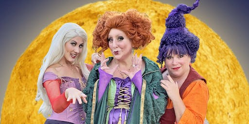 Sanderson Sisters Spellbinding Evening - Mystic CT (Oct 26)