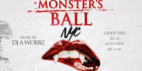 Monsters Ball Costume Party Halloween Night @ SOB's tickets