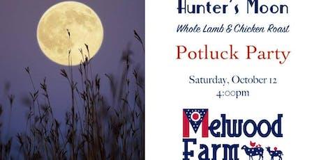 Hunter's Moon Potluck Party tickets