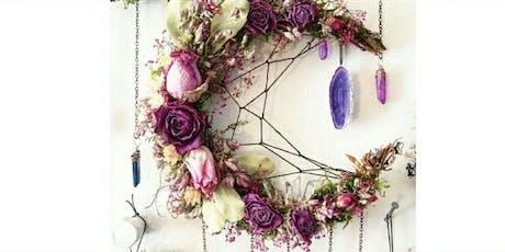 DIY Lunar Goddess Wreath & New Moon Ritual Bar tickets