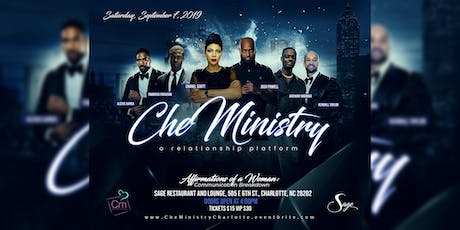 CheMinistry, a relationship platform  tickets