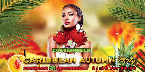 CARIBBEAN AUTUMN PARTY 21 SEPTEMBER 2019