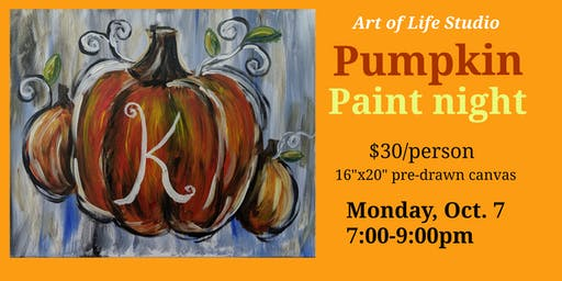 Paint Night: Pumpkin