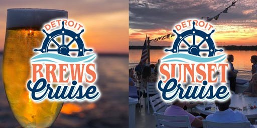 Sunset & Brews Cruise on the Detroit Princess Riverboat