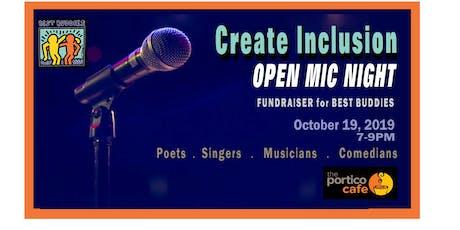 Create Inclusion: Open Mic Night tickets