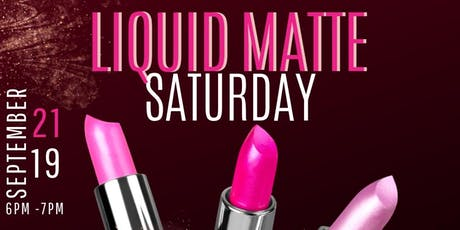 DIY Liquid Matte Lipstick Workshop tickets
