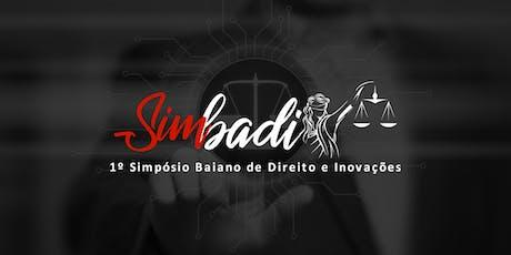 Simbadi - Simpósio Baiano de Direito e Inovações ingressos