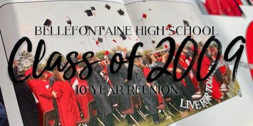 Bellefontaine High School Class of 2009- 10 Year Reunion