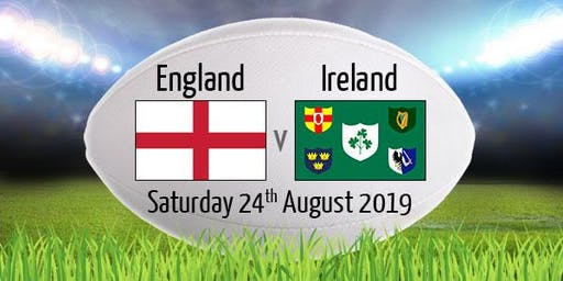 STREAMS#@!!...[RUGBY]England v Ireland Rugby Live Broadcast 24 Aug 2019