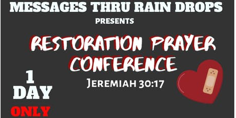 Restoration Prayer Conference-Trinidad tickets
