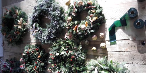 Christmas Wreath Workshops SORRY THIS DATE HAS SOLD OUT