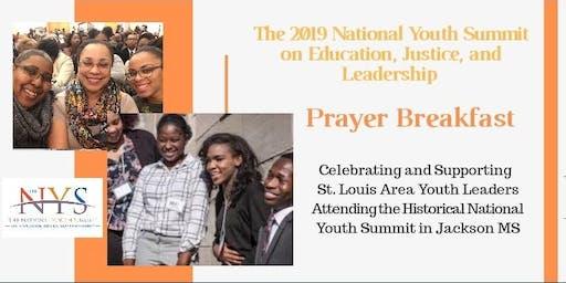 2019 National Youth Summit Prayer Breakfast