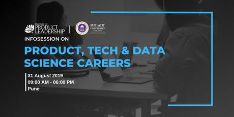 Info-session on Product, Tech and Data Science Careers tickets