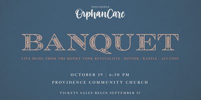 Providence Orphan Care Banquet