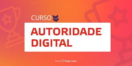 Curso Autoridade Digital em Aracaju ingressos
