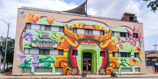 FOOD ROOF | Mural Unveiling!