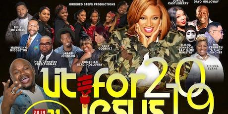 LIT for Jesus Gospel Concert Experience 2019! Kierra Sheard & Josh Copeland tickets