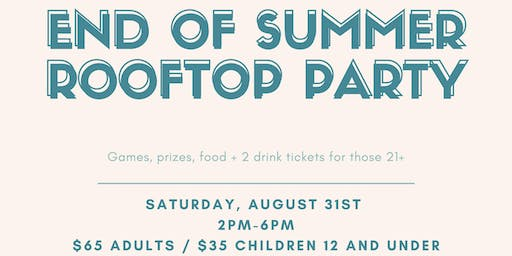 End of Summer Rooftop Party