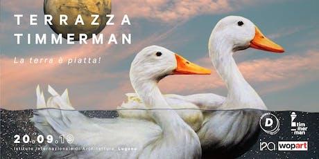 Terrazza Timmerman - Wopart opening biglietti