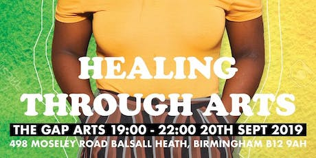 'Healing through Arts' Listening Party tickets