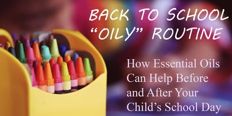 BACK TO SCHOOL - BOOST YOUR FAMILY'S IMMUNITY WITH ESSENTIAL  OILS  tickets