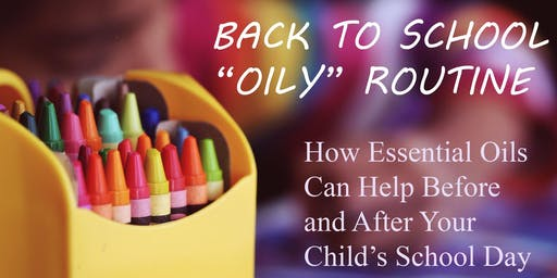 BACK TO SCHOOL - BOOST YOUR FAMILY'S IMMUNITY WITH ESSENTIAL  OILS