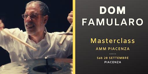 Dom Famularo Masterclass a Piacenza