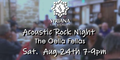 Acoustic Rock Night- August tickets