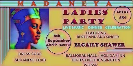 Madaniya Ladies Party  tickets