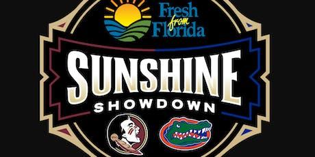 Sunshine Showdown (Seminoles vs Gators) Bus Trip Tallahassee to Gainesville tickets