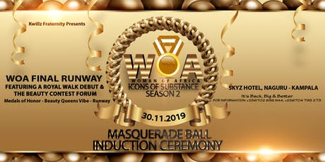 WOA Icons of Substance Masquerade Ball Induction Ceremony Season 2 tickets